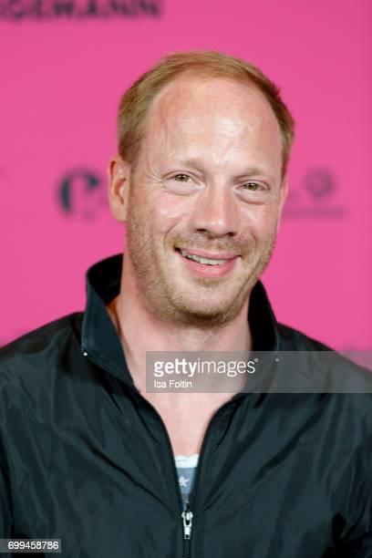 German actor Johann von Buehlow attends the 'Axolotl Overkill' Berlin Premiere at Volksbuehne RosaLuxemburgPlatz on June 21 2017 in Berlin Germany