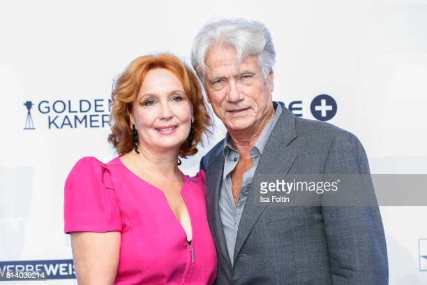 German actor Juergen Prochnow and his wife Verena Wengler attend the summer party 2017 of the German Producers Alliance on July 12 2017 in Berlin...