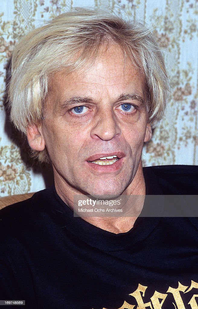German actor <a gi-track='captionPersonalityLinkClicked' href=/galleries/search?phrase=Klaus+Kinski&family=editorial&specificpeople=926822 ng-click='$event.stopPropagation()'>Klaus Kinski</a> poses for a portrait in circa 1979.