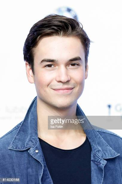 German actor Louis Held attends the summer party 2017 of the German Producers Alliance on July 12 2017 in Berlin Germany