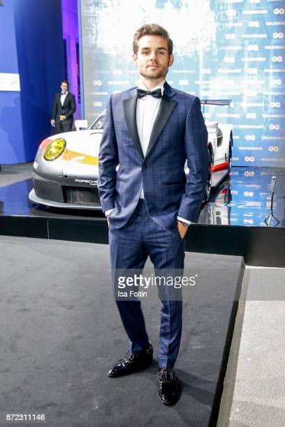 German actor Lucas Reiber arrives for the GQ Men of the year Award 2017 at Komische Oper on November 9 2017 in Berlin Germany