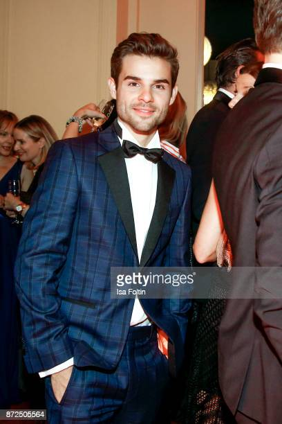 German actor Lucas Reiber attends the GQ Men of the year Award 2017 after show party at Komische Oper on November 9 2017 in Berlin Germany