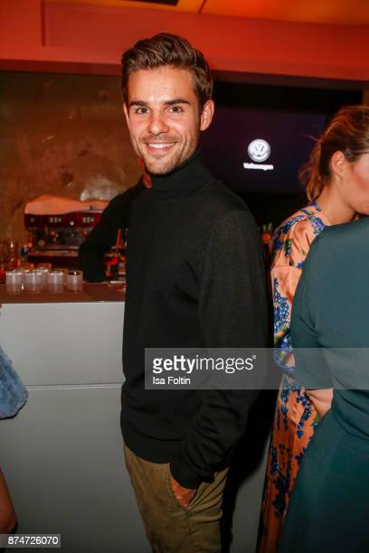 German actor Lucas Reiber during the New Faces Award Style 2017 at The Grand on November 15 2017 in Berlin Germany