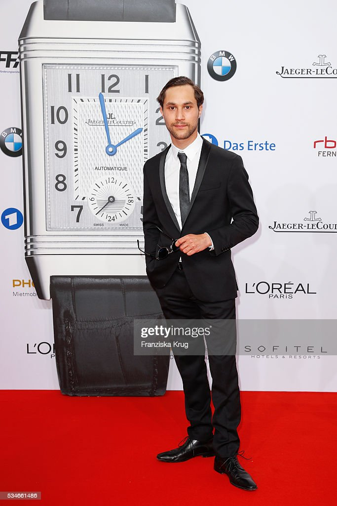 German actor Ludwig Trepte during the Lola - German Film Award (Deutscher Filmpreis) 2016 on May 27, 2016 in Berlin, Germany.