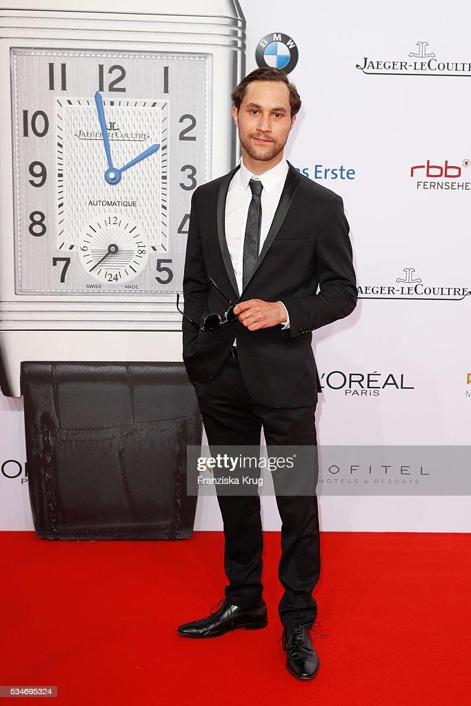 German actor Ludwig Trepte during the Lola German Film Award (Deutscher Filmpreis) 2016 on May 27, 2016 in Berlin, Germany.