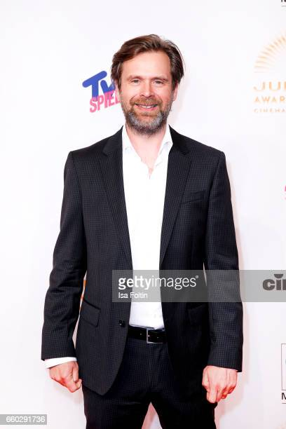German actor Matthias Matschke attends the Jupiter Award at Cafe Moskau on March 29 2017 in Berlin Germany