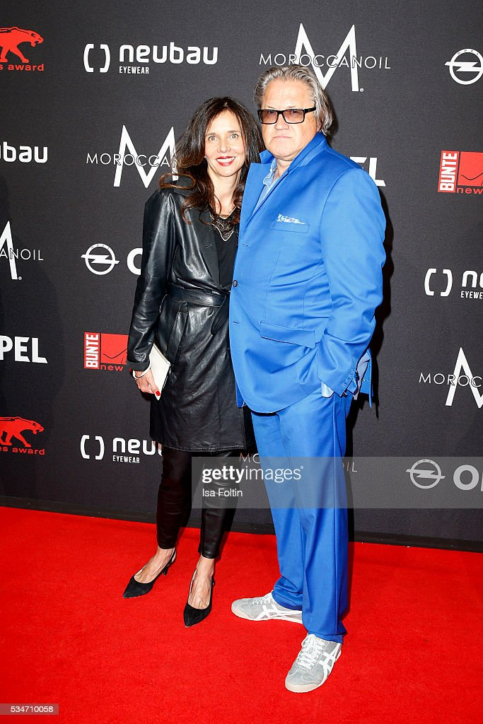 German actor Michael Brandner and his wife Karin Brandner attend the New Faces Award Film 2016 at ewerk on May 26, 2016 in Berlin, Germany.