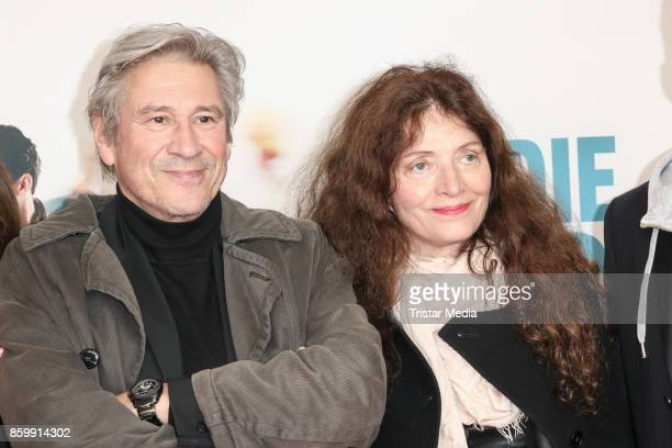 German actor Michael Kind and his wife Ursula Andermatt attend the 'Die Unsichtbaren' Premiere at Kino International on October 10 2017 in Berlin...