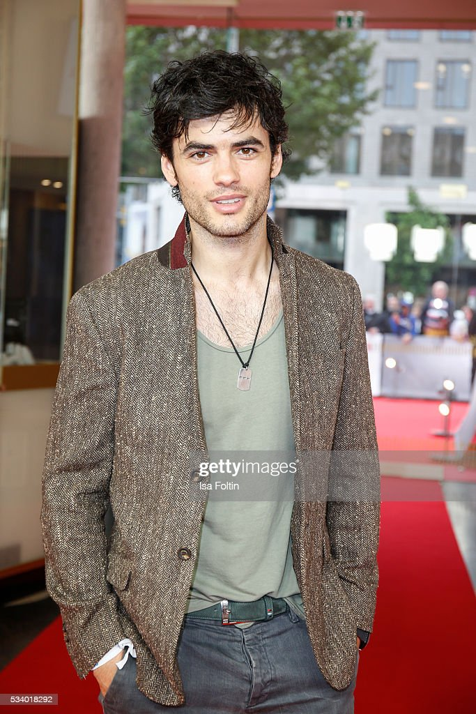 German actor Nik Xhelilaj attends the premiere of the film 'Seitenwechsel' at Zoo Palast on May 24, 2016 in Berlin, Germany.
