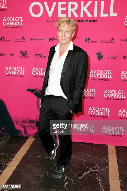 German actor Oliver Masucci attends the 'Axolotl Overkill' Berlin Premiere at Volksbuehne RosaLuxemburgPlatz on June 21 2017 in Berlin Germany