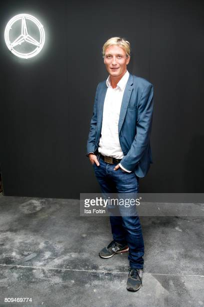 German actor Oliver Masucci attends the mbcollective Fashion Story Chapter Two Global Launch at Soho House on July 5 2017 in Berlin Germany