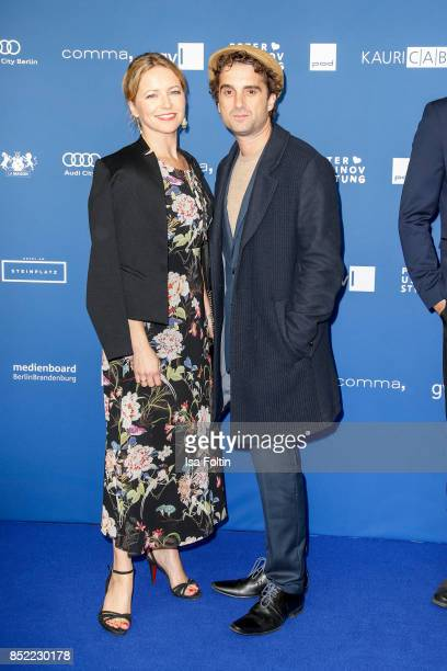 German actor Oliver Wnuk and guest during the 6th German Actor Award Ceremony at Zoo Palast on September 22 2017 in Berlin Germany