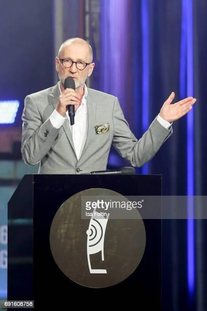 German actor Peter Lohmeyer during the Echo Jazz 2017 on June 1 2017 in Hamburg Germany