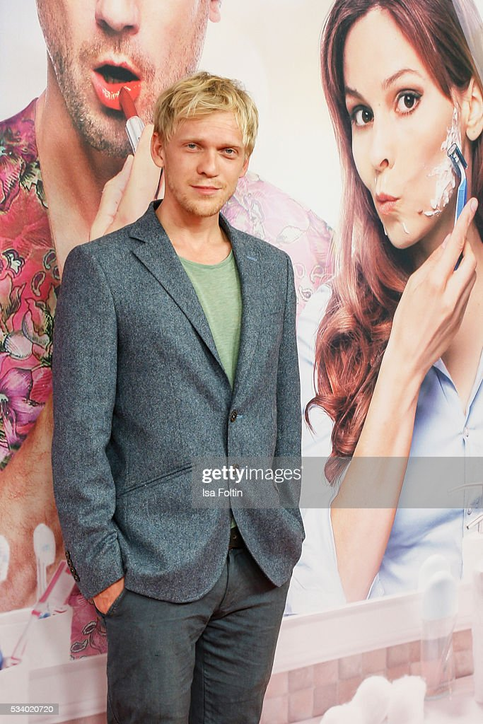 German actor Pit Bukowski attends the premiere of the film 'Seitenwechsel' at Zoo Palast on May 24, 2016 in Berlin, Germany.