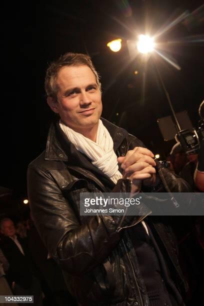 German actor Ralf Bauer attends the Premiere of the movie 'Jud Suess Film ohne Gewissen' on September 21 2010 in Munich Germany