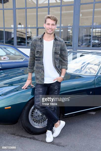 German actor Raul Richter attends the Maserati Showroom Opening on June 16 2017 in Berlin Germany