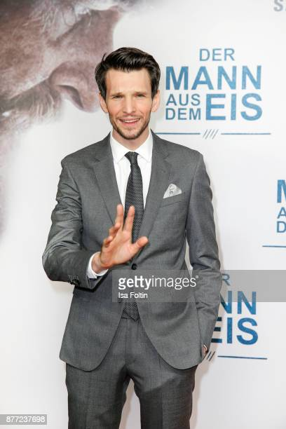 German actor Sabin Tambrea attends the premiere of 'Der Mann aus dem Eis' at Zoo Palast on November 21 2017 in Berlin Germany