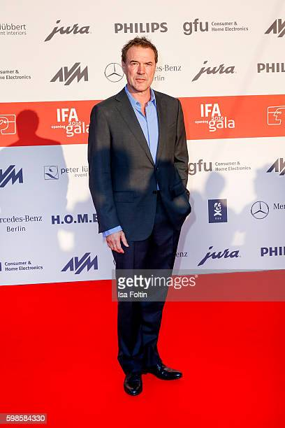 German actor Sebastian Koch attends the IFA 2016 opening gala on September 1 2016 in Berlin Germany