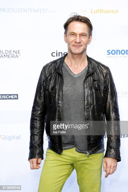 German actor Thure Riefenstein attends the summer party 2017 of the German Producers Alliance on July 12 2017 in Berlin Germany