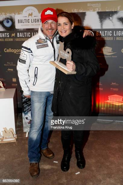 German actor Till Demtroeder and german actress Anja Kling attend the 'Baltic Lights' charity event on March 11 2017 in Heringsdorf Germany Every...