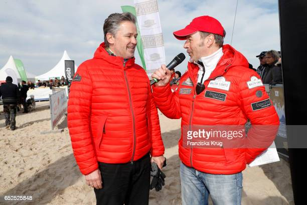German actor Timothy Peach and german actor Till Demtroeder attend the 'Baltic Lights' charity event on March 12 2017 in Heringsdorf Germany Every...