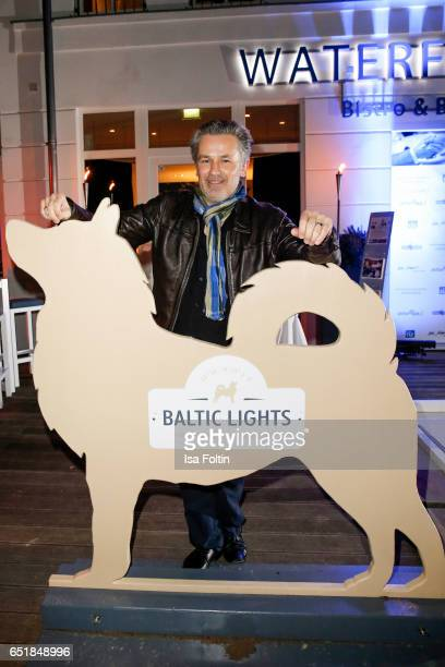 German actor Timothy Peach attends the 'Baltic Lights' charity event on March 10 2017 in Heringsdorf Germany Every year German actor Till Demtroder...