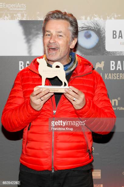 German actor Timothy Peach attends the 'Baltic Lights' charity event on March 11 2017 in Heringsdorf Germany Every year German actor Till Demtroder...