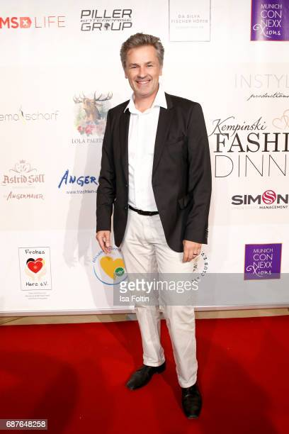 German actor Timothy Peach attends the Kempinski Fashion Dinner on May 23 2017 in Munich Germany
