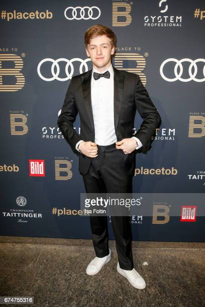 German actor Timur Bartels attends the Place To Be Party after the Lola German Film Award on April 28 2017 in Berlin Germany