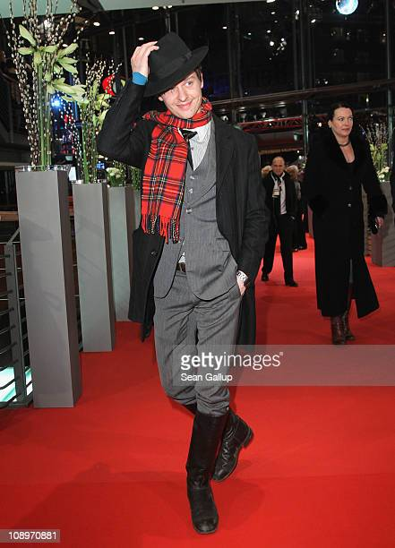 German actor Tom Schilling attends the 'True Grit' Premiere during the opening day of the 61st Berlin International Film Festival at Berlinale Palace...