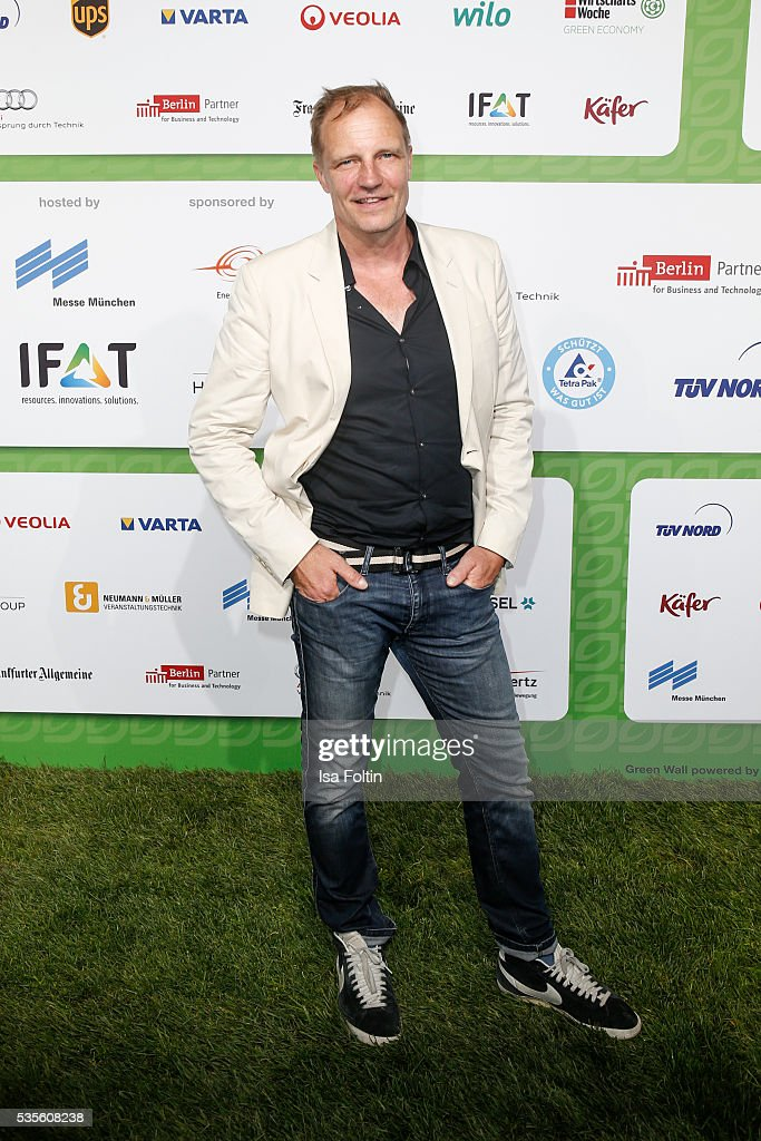 German actor Torsten Nindel attends the Green Tec Award at ICM Munich on May 29, 2016 in Munich, Germany.