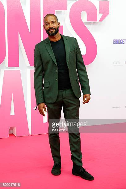 German actor Tyron Ricketts attends the 'Bridget Jones Baby' German Premiere at Zoo Palast on September 7 2016 in Berlin Germany