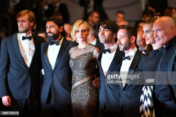 German actor Ulrich Brandhoff German actor Numan Acar German actress Diane Kruger German director Fatih Akin German actor Denis Moschitto German...