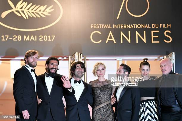 German actor Ulrich Brandhoff German actor Numan Acar German director Fatih Akin German actress Diane Kruger German actor Denis Moschitto German...