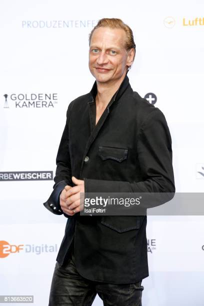 German actor Victor Schefe attends the summer party 2017 of the German Producers Alliance on July 12 2017 in Berlin Germany