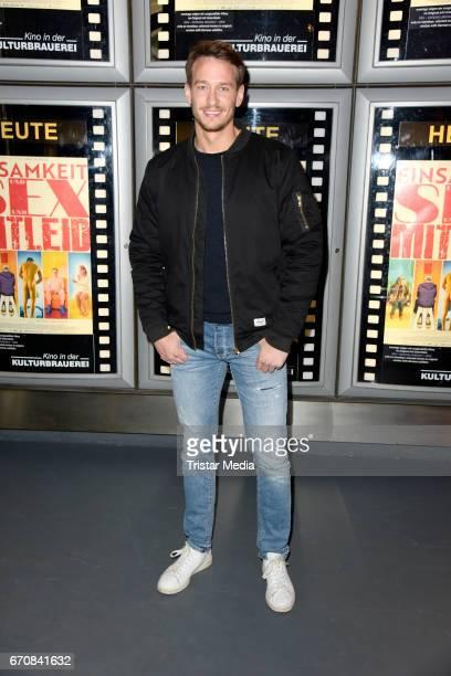 German actor Vladimir Burlakov attends the screening of the film 'Einsamkeit und Sex und Mitleid' on April 20 2017 in Berlin Germany