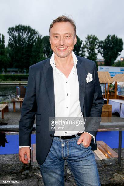 German actor Werner Daehn during the summer party 2017 of the German Producers Alliance on July 12 2017 in Berlin Germany