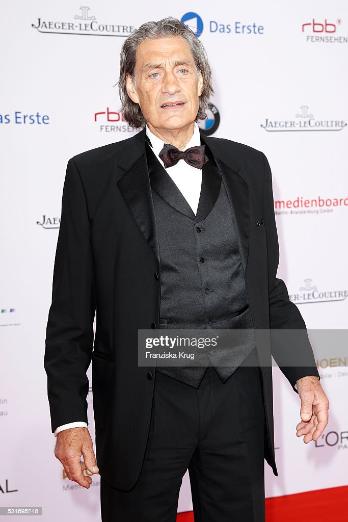 German actor Winfried Glatzender during the Lola - German Film Award (Deutscher Filmpreis) 2016 on May 27, 2016 in Berlin, Germany.