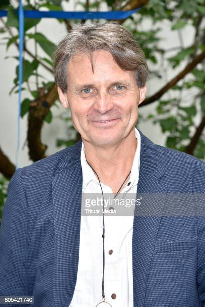 German actor Wolfgang Bahro attends the Summer Party at Schlosspark Thetaer on July 1 2017 in Berlin Germany