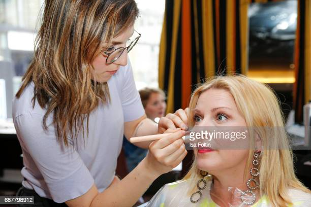 German actress Alexandra Bechtel attends the Kempinski Fashion Dinner on May 23 2017 in Munich Germany