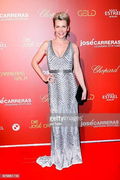 German actress Alexandra Rietz attends the 22th Annual Jose Carreras Gala on December 14 2016 in Berlin Germany