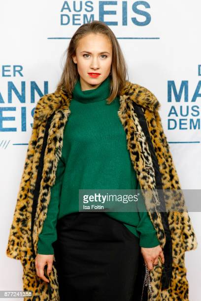 German actress Alina Levshin attends the premiere of 'Der Mann aus dem Eis' at Zoo Palast on November 21 2017 in Berlin Germany