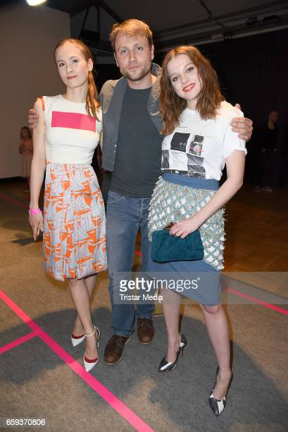 German actress Alina Levshin german actor Max Riemelt and german actress Jella Haase attend the BIDI BADU by Kilian Kerner Presentation at Ellington...