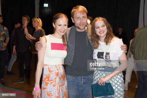 German actress Alina Levshin german actor Max Riemelt and german actress Jella Haase attend the BIDI BADU by Kilian Kerner Presentation at Ellington...
