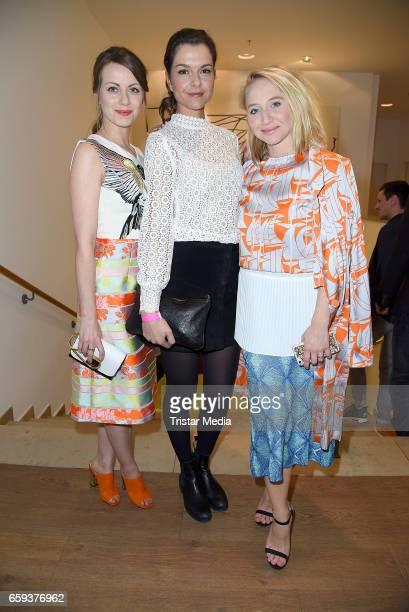 German actress Alina Levshin german actress Susan Hoecke and german actress Anna Maria Muehe attend the BIDI BADU by Kilian Kerner Presentation at...