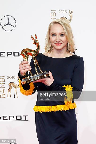 German actress and award winner during the Bambi Awards 2016 at Stage Theater on November 17 2016 in Berlin Germany
