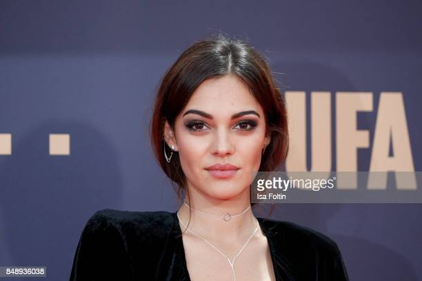 German actress and video blogger Nilam Farooq attends the UFA 100th anniversary celebration at Palais am Funkturm on September 15 2017 in Berlin...