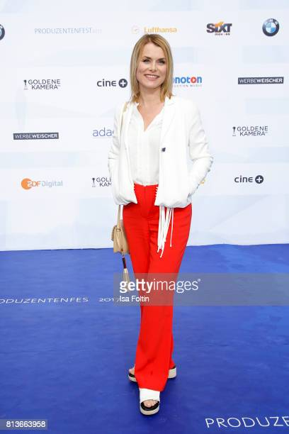 German actress Andrea Luedke attends the summer party 2017 of the German Producers Alliance on July 12 2017 in Berlin Germany