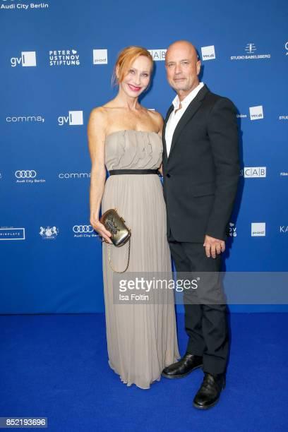 German actress Andrea Sawatzki and Christian Berkel during the 6th German Actor Award Ceremony at Zoo Palast on September 22 2017 in Berlin Germany