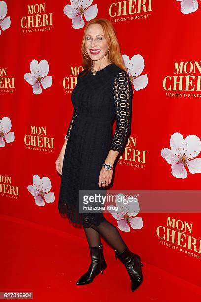 German actress Andrea Sawatzki attends the Mon Cheri Barbara Tag at Postpalast on December 2 2016 in Munich Germany